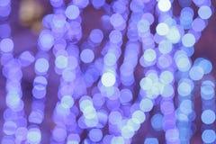 Fond abstrait de lumière de ville de bokeh Photographie stock
