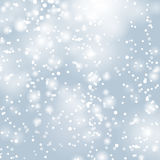 Fond abstrait de lumières de Noël Photos libres de droits