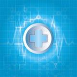 Fond abstrait de médecine Image stock