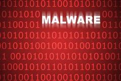 Fond abstrait de Malware Photos stock