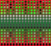 Fond abstrait de matrice Illustration Stock