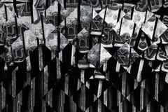 Fond abstrait de matrice photos stock
