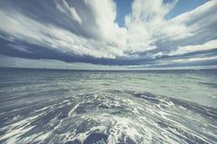 Fond abstrait de mer Image libre de droits