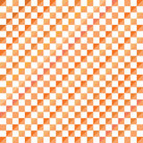 Fond abstrait de modèle de triangle de mosaïque, illustration géométrique orange de vecteur de fond Photo libre de droits