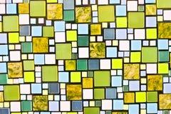 Fond abstrait de mosaïque Photos libres de droits
