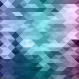 Fond abstrait de mosaïque Image libre de droits