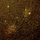 Fond abstrait de mosaïque d'or. Photos libres de droits