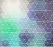 Fond abstrait de mosaïque de couleur illustration libre de droits