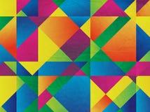 Fond abstrait de mosaïque pour la conception Images libres de droits