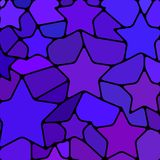 Fond abstrait de mosaïque de verre coloré Photo libre de droits