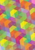 Fond abstrait de mosaïque Images stock