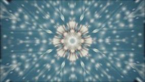Fond abstrait de mouvement de kaléidoscope banque de vidéos