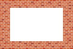 Fond abstrait de mur de briques de Brown - dirigez la conception illustration de vecteur