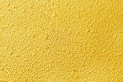 Fond abstrait de mur d'or Image libre de droits