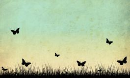 Fond abstrait de nature Photo libre de droits