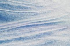 Fond abstrait de neige Photographie stock