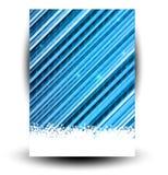Fond abstrait de neige d'étoiles Image libre de droits