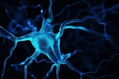 Fond abstrait de neurones Images stock