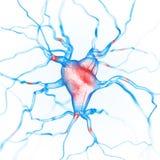 Fond abstrait de neurones illustration de vecteur