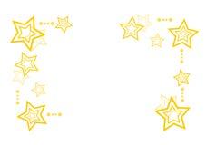 Fond abstrait de Noël avec des étoiles illustration de vecteur