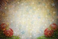 Fond abstrait de Noël de cru illustration libre de droits