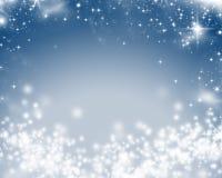 Fond abstrait de Noël des lumières de vacances illustration de vecteur