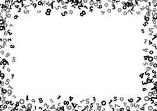 Fond abstrait de nombre de maths Illustration de vecteur Photo stock
