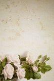 Fond abstrait de papier de fleur de cru Photographie stock libre de droits