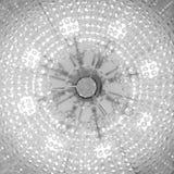 Fond abstrait de petites ampoules photo stock