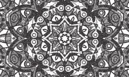 Fond abstrait de petits points formant un mandala Photo stock