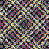 Fond abstrait de plaid Photo libre de droits