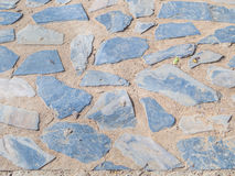 Fond abstrait de plancher de ciment et de roche Photographie stock