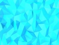 Fond abstrait de polygone Images stock