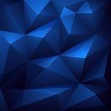 Fond abstrait de polygone Photographie stock libre de droits