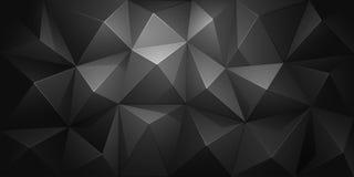 Fond abstrait de polygone Vecteur Photographie stock libre de droits