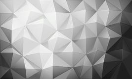 Fond abstrait de polygone Vecteur Images stock