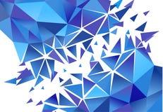 Fond abstrait de polygone Vecteur Photos stock