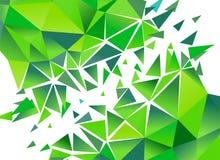 Fond abstrait de polygone Vecteur Photos libres de droits