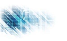 Fond abstrait de réseau informatique de sécurité de technologie, illustration de vecteur illustration libre de droits