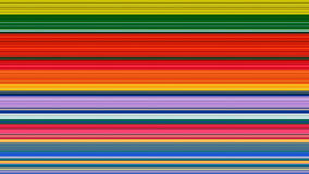 Fond abstrait de rayures colorées ; effet étiré de pixels illustration stock
