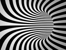 Fond abstrait de rayures noires et blanches Photographie stock libre de droits