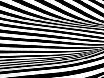 Fond abstrait de rayures noires et blanches Photo libre de droits