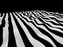 Fond abstrait de rayures noires et blanches Images stock