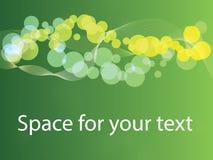Fond abstrait de ressort avec l'espace pour le texte Photos stock