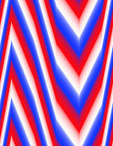 Fond abstrait de rouge, blanc et bleu coloré Images libres de droits