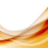 Fond abstrait de rouge de bruissement de vague Photos libres de droits