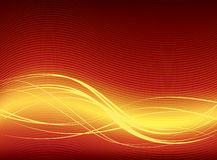 Fond abstrait de rouge de vecteur Images libres de droits