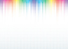 Fond abstrait de spectre Photos stock