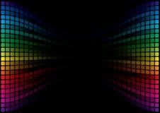 Fond abstrait de spectre Photo libre de droits