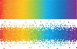 Fond abstrait de spectre Photos libres de droits